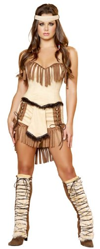 3 Piece Indian Mistress (Squaw Costumes)