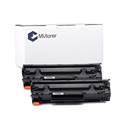 MVtoner New Compatible HPCE285A CanonCRG325/725/925 Toner Cartridge-Black for HP LaserJet Pro P1100/P1102/P1104/P1109/P1102w/P1104w/P1109w Canon LBP 6000/6018