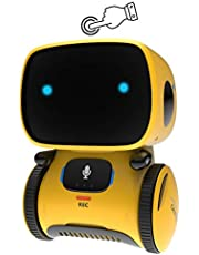 GILOBABY Smart Robot Toys for Kids Children, Boys Girls Toys for 3 Years Old Up, Gifts Intelligent Educational Robotic Toy, Voice Control&Touch Sense, Dance&Sing&Walk , Recording&Speak Like You