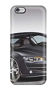 Cute Tpu AnnDavidson Audi R8 Black Case Cover For Iphone 6 Plus