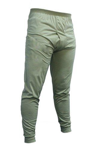 Kenyon Men's Silk Weight Thermal Bottom, Desert Sand, (Desert Sand Silk)