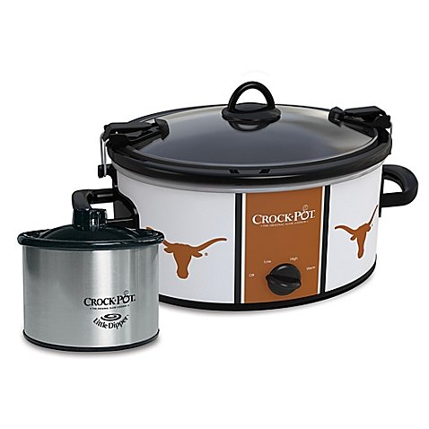 University of Texas Slow Cooker with Little Dipper Warmer Review