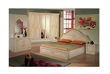 Schlafzimmer Fiella In Beige Creme Klassische Italien Möbel Lu