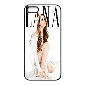 James-Bagg Phone case Singer Lana Del Rey Protective Case For Apple Iphone 5 5S Cases Style-19