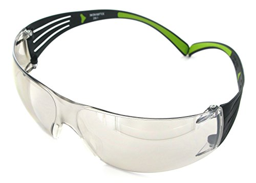 3M SecureFit Protective Eyewear, 400-Series, SF410AS, Indoor/Outdoor Mirror lens (Case of 20) by 3M Personal Protective Equipment