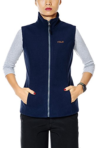 Zip Front Fleece Vest - 9