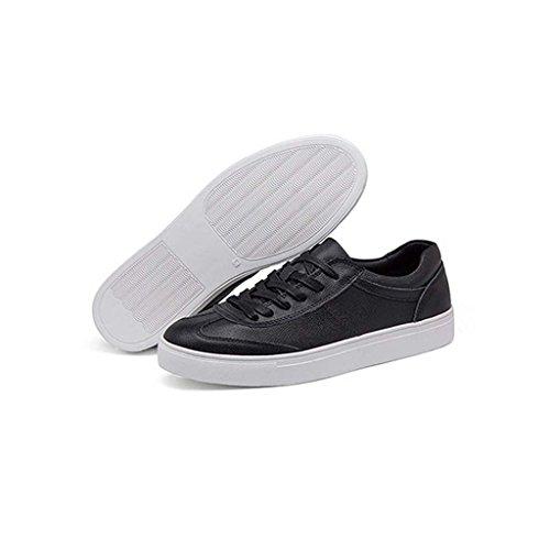 ZXCV Zapatos al aire libre Los zapatos del tablero del ocio de los hombres calzan los zapatos masculinos de la comodidad cientos de la comodidad Negro