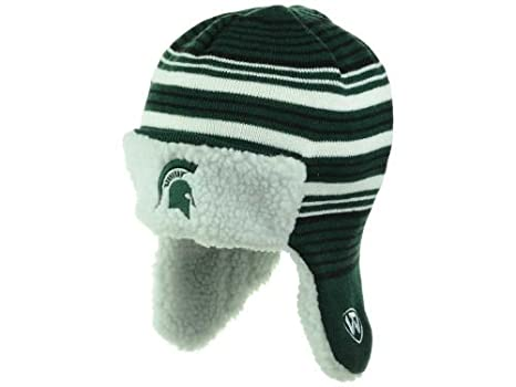 3595b780de9 Image Unavailable. Image not available for. Color  Michigan State Spartans  Trooper Style Fleece Lined Hat ...