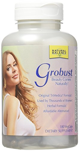 Natural Balance Grobust Herbal Supplement, 180 Count