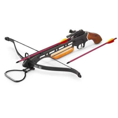 Rex New 150 lb Hunting Crossbow with Arrows/Bolts 150lb, Wood