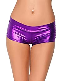Metallic Booty Shorts, Shiny Bottoms For Dancing, raves,...