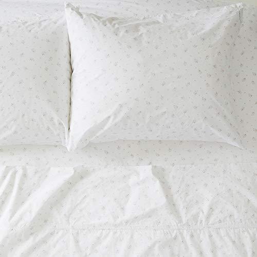(Rachel Ashwell Pearl Flat Sheet, Queen, White)