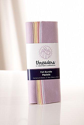 Threaders TH-1235 Felt Bundle-Pretty Pastels