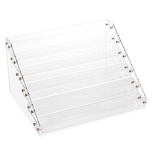 happy-hours-clear-makeup-nail-polish-storage-box-case-fashion-design-transparent-plastic-rack-trapez