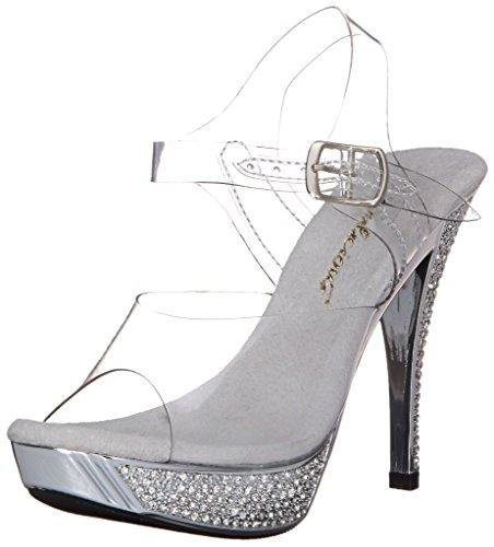 Womens Elegante 408-sandaalhelder Jurk Van Fabulicious
