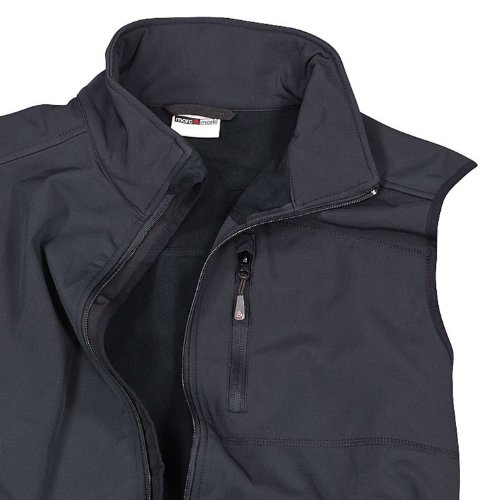Abraxas gilet softshell noir grande taille