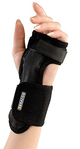 Bracoo Breathable Wrist Splint, Superior Ergonomic Brace for Carpel Tunnel Syndrome, Tendonitis, and Acute Sprains, Supports All Wrist Sizes