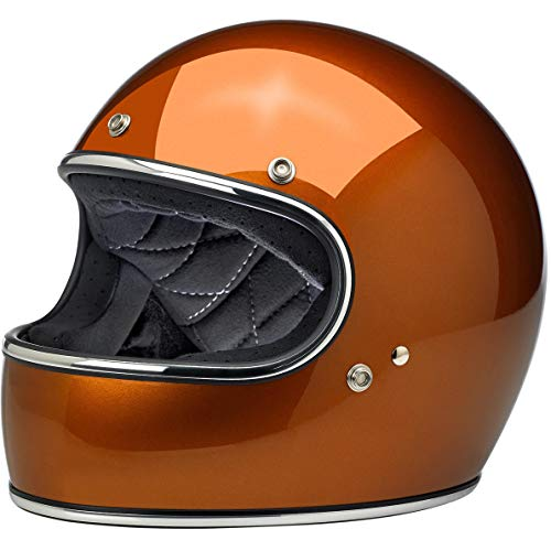 Biltwell Gringo ECE Rated Helmet Gloss Copper X-Large (More Size and Color Options)