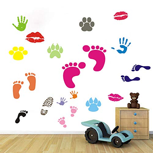 BIBITIME Jungle 3 Monkeys Playing on Tree Wall Sticker Vinyl Decal Kid Nursery Baby Decoration Decal SG/_B01H0DCMKA/_US