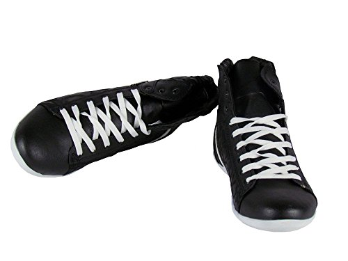 Leder Style High - schwarz