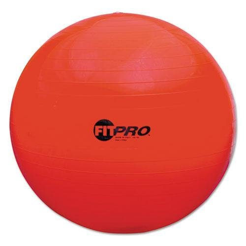 Champion FP65 FitPro Ball with Stability Legs, 65cm, Red