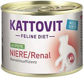 Kattovit Dose Feline Diet Niere/Renal Pute 185g (Menge: 12 je Bestelleinheit)
