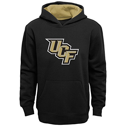 "NCAA by Outerstuff NCAA Central Florida Golden Knights Kids & Youth Boys ""Prime"" Fleece Pullover Hoodie, Black, Kids Large(7)"