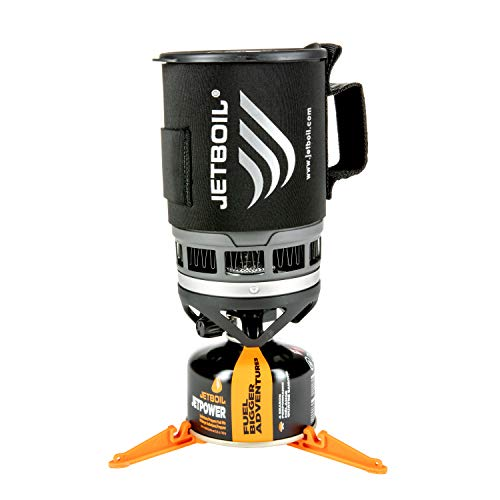 Jetboil Zip Camping Stove Cooking System, Carbon