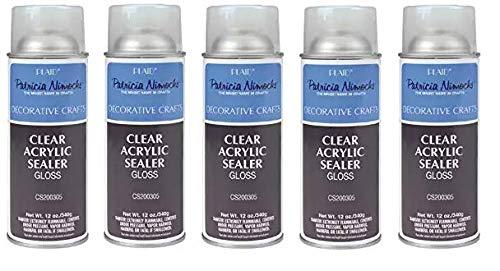 Plaid Patricia Nimocks Clear Acrylic Sealer 12-Ounce , CS200305 Gloss Fiv k