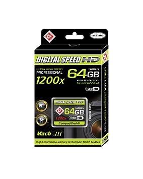 Velocidad Digital profesional de alta velocidad Mach 64 GB ...