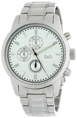 D&G Dolce & Gabbana Men's DW0750 Wine Tote Round Chronograph Watch