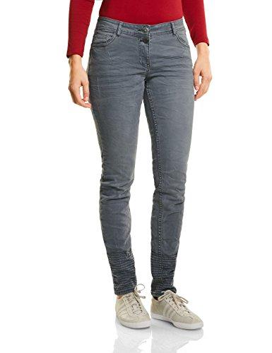 Jeans Grigio Straight Cecil dark Silver Donna 10126 U0wdCq