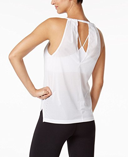 Womens Back Out Breathe Tank Cut Running Top Nike White dFq7Cd