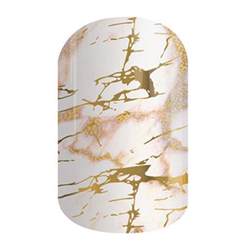 MARBLE ME | Jamberry Nail Wraps | Fun & Trendy Nail Art Stickers (HALF SHEET)