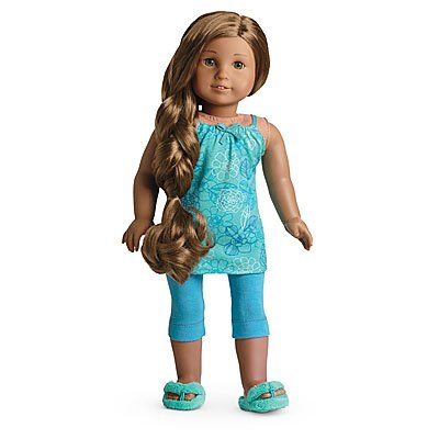 Gathered Cropped Legging (American Girl Kanani's Pajamas for Dolls)