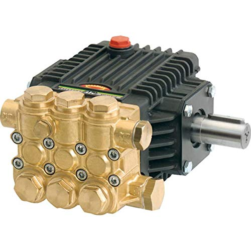 General Pump TX1512S17 Pump, Triplex, 2.6GPM@3000PSI, 1750 RPM, 24mm Solid Shaft by General Pump