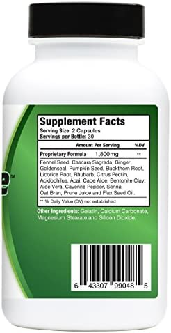 Ultra Cleanse –Supports Weight Loss Efforts, Digestive Health, Increased Energy Levels, and Complete Body Purification with Our Powerful 14 Day Colon Cleanse and Detox System. New & Improved Formula! 2