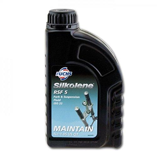 Olio per forcella PRO RSF SAE 5 W, Fuchs Silkolene, 1 litro, 1litro