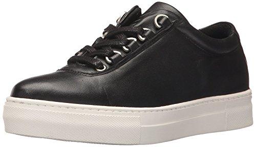 K-Swiss Women's Classico Belleza Sneaker, Black/Off White, 6 M US