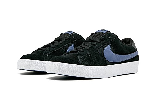 Nike Blazer Low Sb Zwart / Blauw