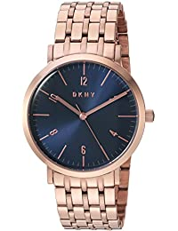 Women's Minetta Analog-Quartz Watch with Stainless-Steel-Plated Strap, Rose Gold, 18 (Model: NY2611)