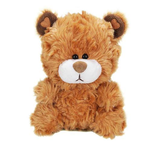 GiftsGloreNow Adorable Teddy Bear - Valentine Ornament for Kids Best Gift for Babies (Brown)