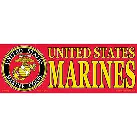 US Marine Corps Logo Bumper Sticker