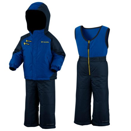 Columbia Boys Infant Rugged Reversible Snow Set