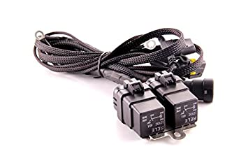 41L8YyNzeYL._SX355_ amazon com ddm tuning heavy duty dual relay hid harness ddm tuning wire diagrams at eliteediting.co