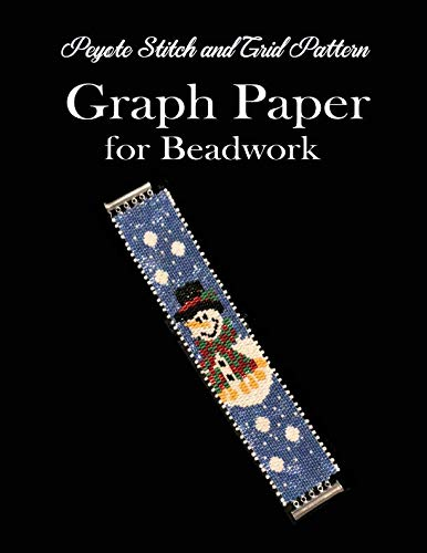 Peyote Stitch and Grid Pattern Graph Paper for Beadwork: Beading Grid Paper for Small Projects -