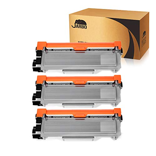 JARBO Compatible Toner Cartridges Replacement for Brother TN660 TN-660 High Yield, 3 Black, Compatible with Brother HL-2340DW HL-2380DW HL-2300D DCP-L2540DW DCP-L2520DW MFC-L2700DW MFC-L2740DW Printer