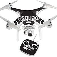 Skin For DJI Phantom 3 Standard – Squad | MightySkins Protective, Durable, and Unique Vinyl Decal wrap cover | Easy To Apply, Remove, and Change Styles | Made in the USA