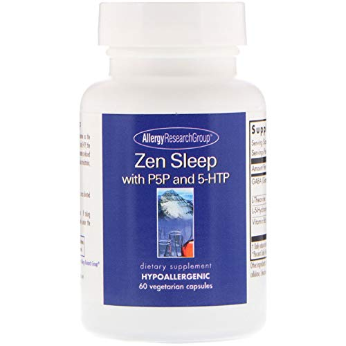 - Allergy Research Group Zen Sleep with P5P and 5-HTP 60 Vegetarian Capsules