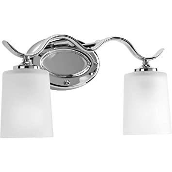 Progress Lighting P2019-15 Med Bath Bracket, 2-100-watt